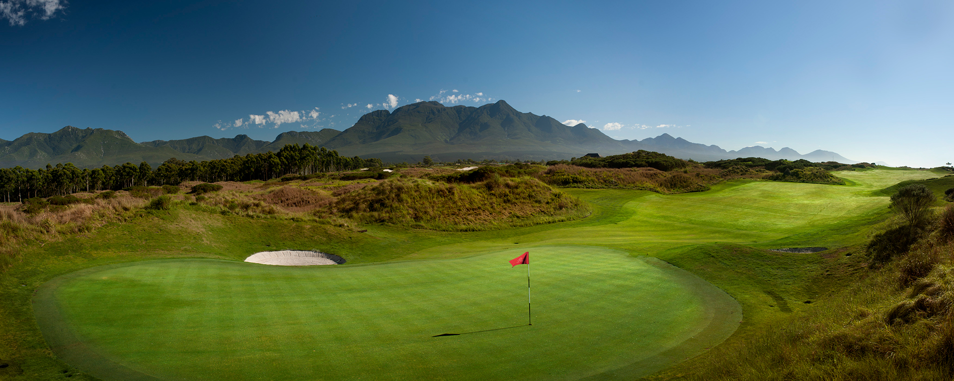 Fancourt's famous Links course is world-renowned for its technical difficulty and spectacular scenery of the George mountains.