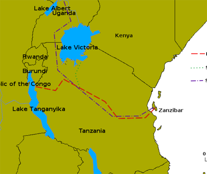 Lakes Of Africa Map.Africa S Great Adventurers Go2africa Com