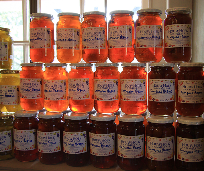 Home-made honey and jam anyone?