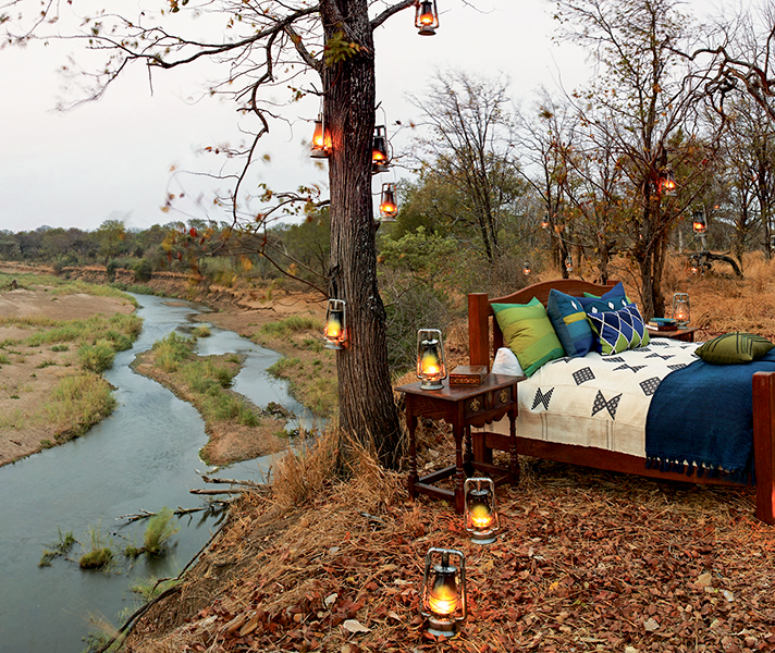 Singita Pamushana has incredible views of Zimbabwe's Malilangwe Wildlife Reserve.