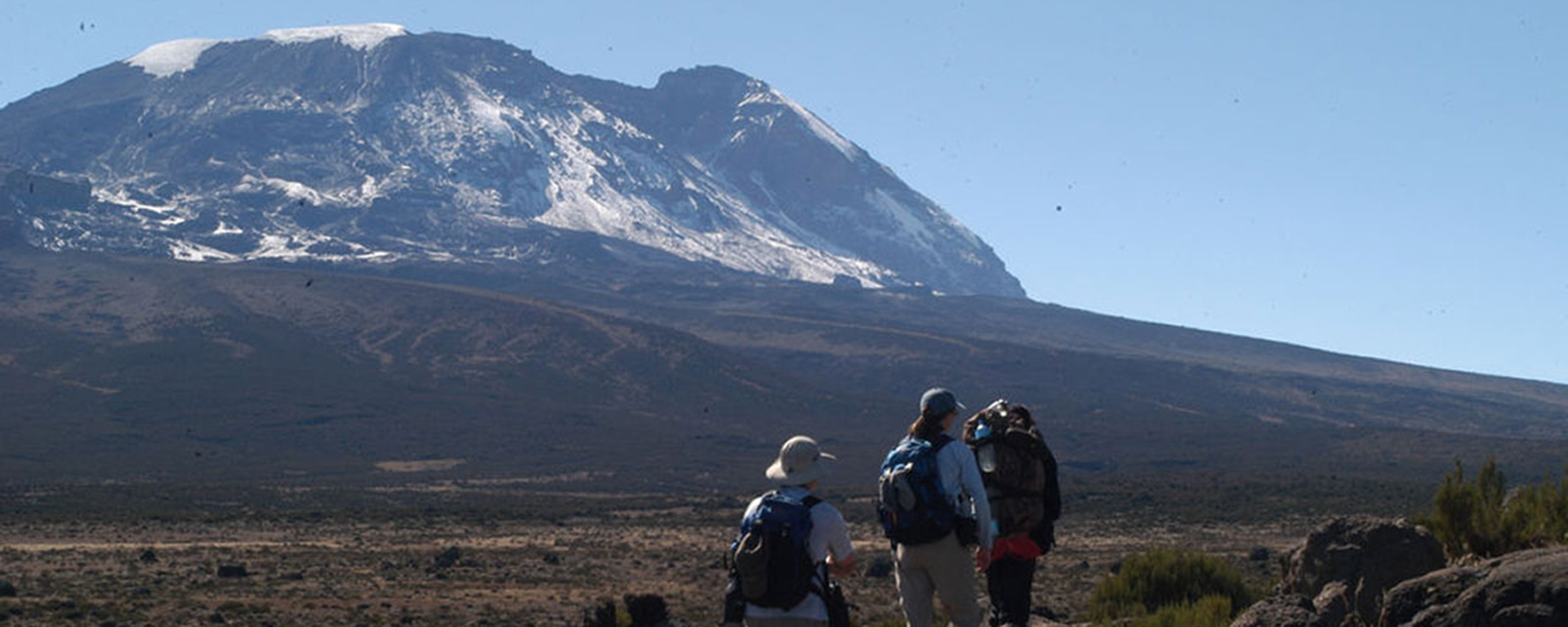 It looks deceptively easy from a distance but don't under-estimate the thinning air as you ascend Kili.
