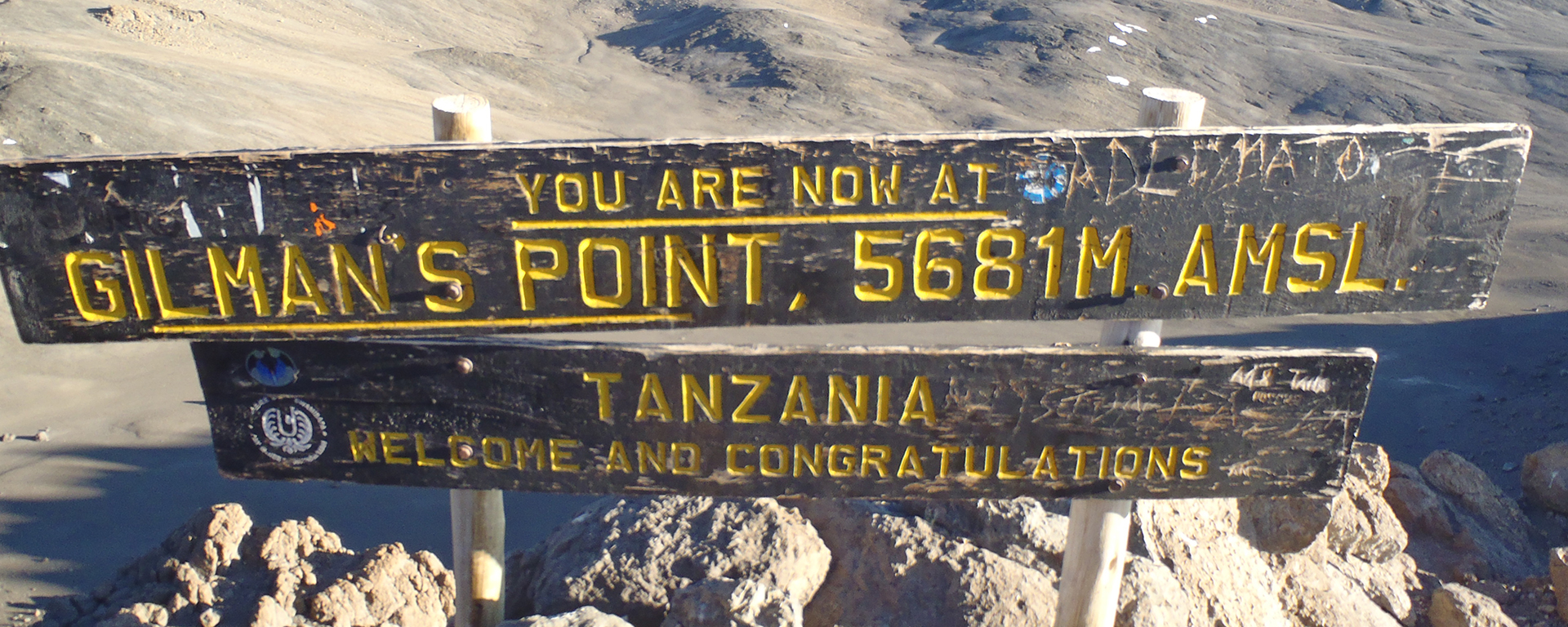 Although Gilman's Point is the 'technical top' of Kili, it's about another 2-hour trek to Uhuru Peak.