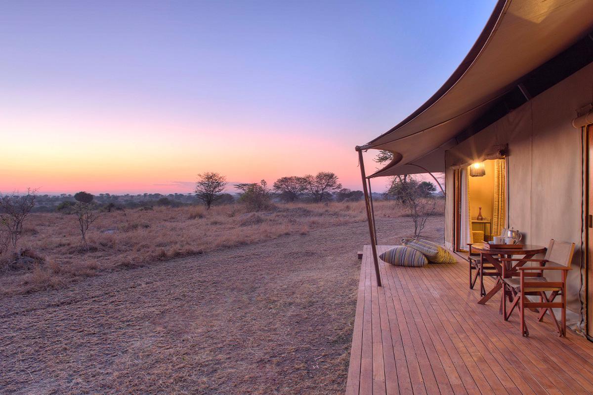 Sayari's Camp Honeymoon Tent in the Serengeti National Park, Tanzania