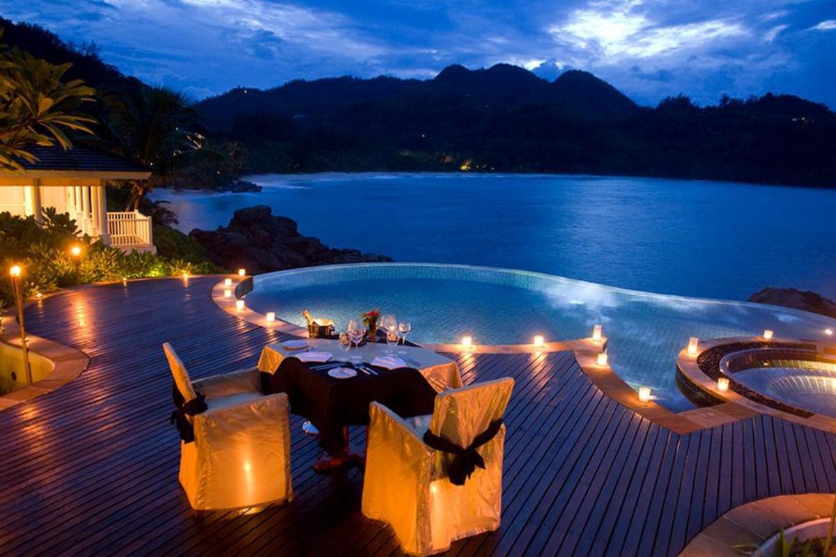 Benguerra Island, Seychelles sunset
