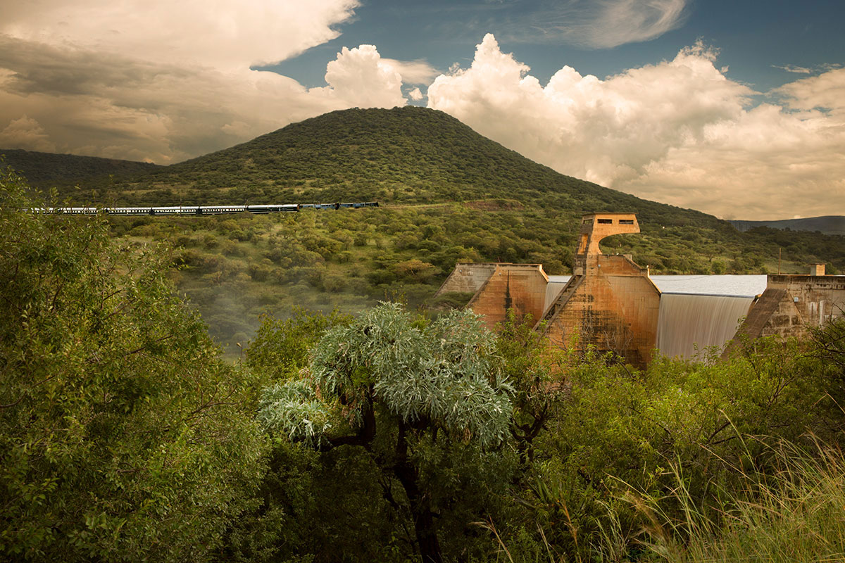 Luxury African Train Journey on the Rovos Rail from Cape Town to Dar Es Salaam