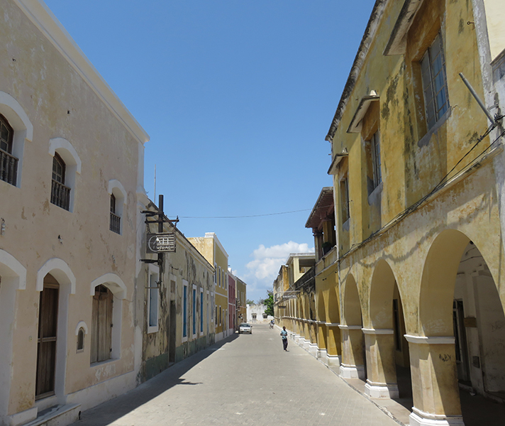 We loved walking around the historic Island of Mozambique, which was once the capital of colonial Portuguese East Africa.