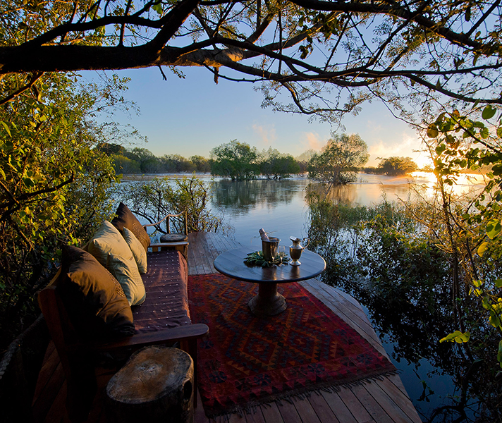 Declare your intentions on the Zambezi River at Sindabezi Island Camp.