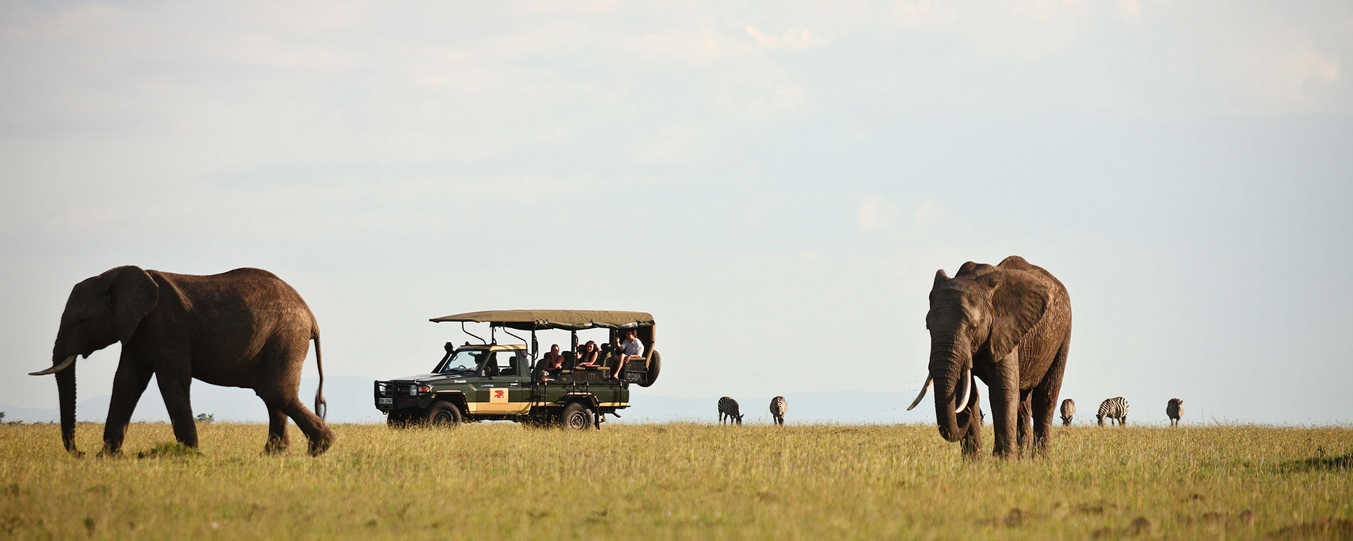 It's easy to add a fly-in safari onto your beach holiday.