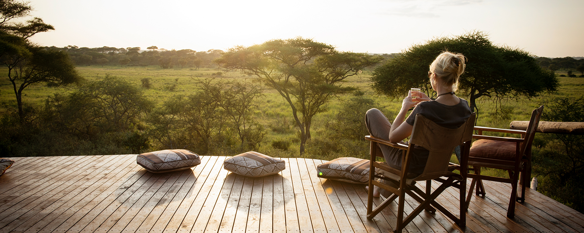 Oliver's is a gorgeous camp in Tarangire National Park.