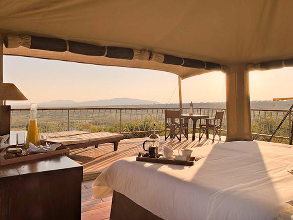 Views from Mara Bushop Camp