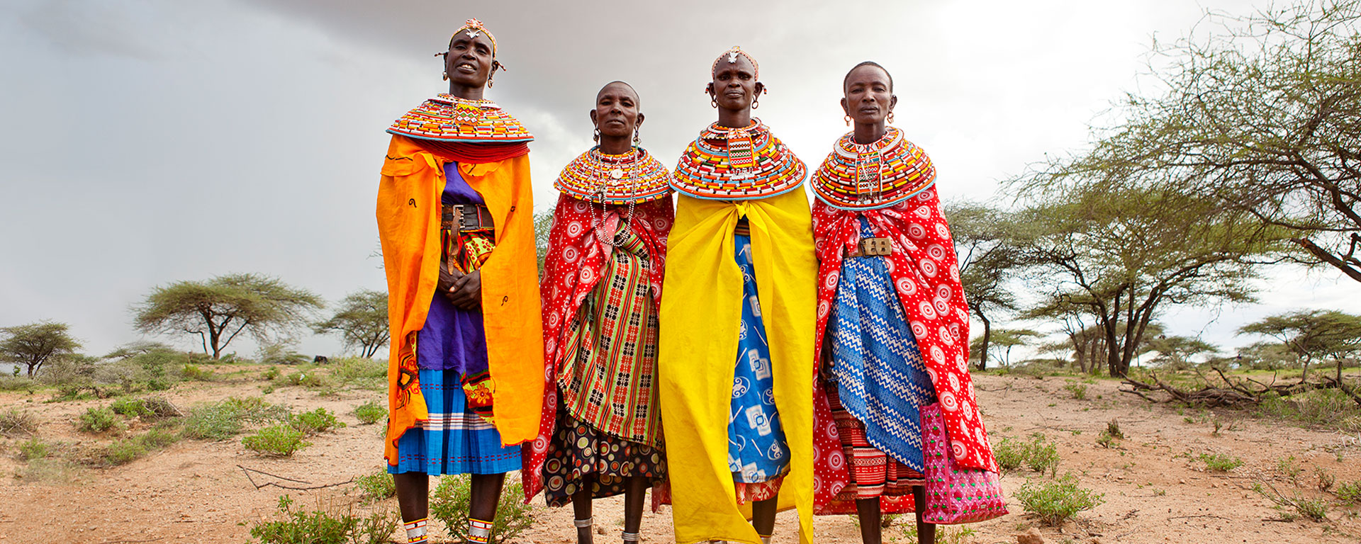 Take inspiration from stylish Samburu women and look out for traditional fabrics, jewellery and beadwork.
