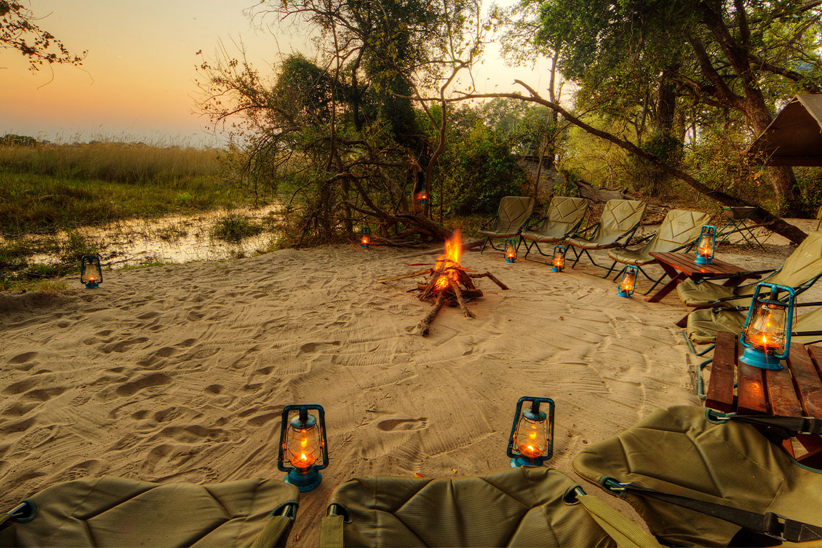 Experience pristine wilderness at Footsteps Across the Delta in Botswana.