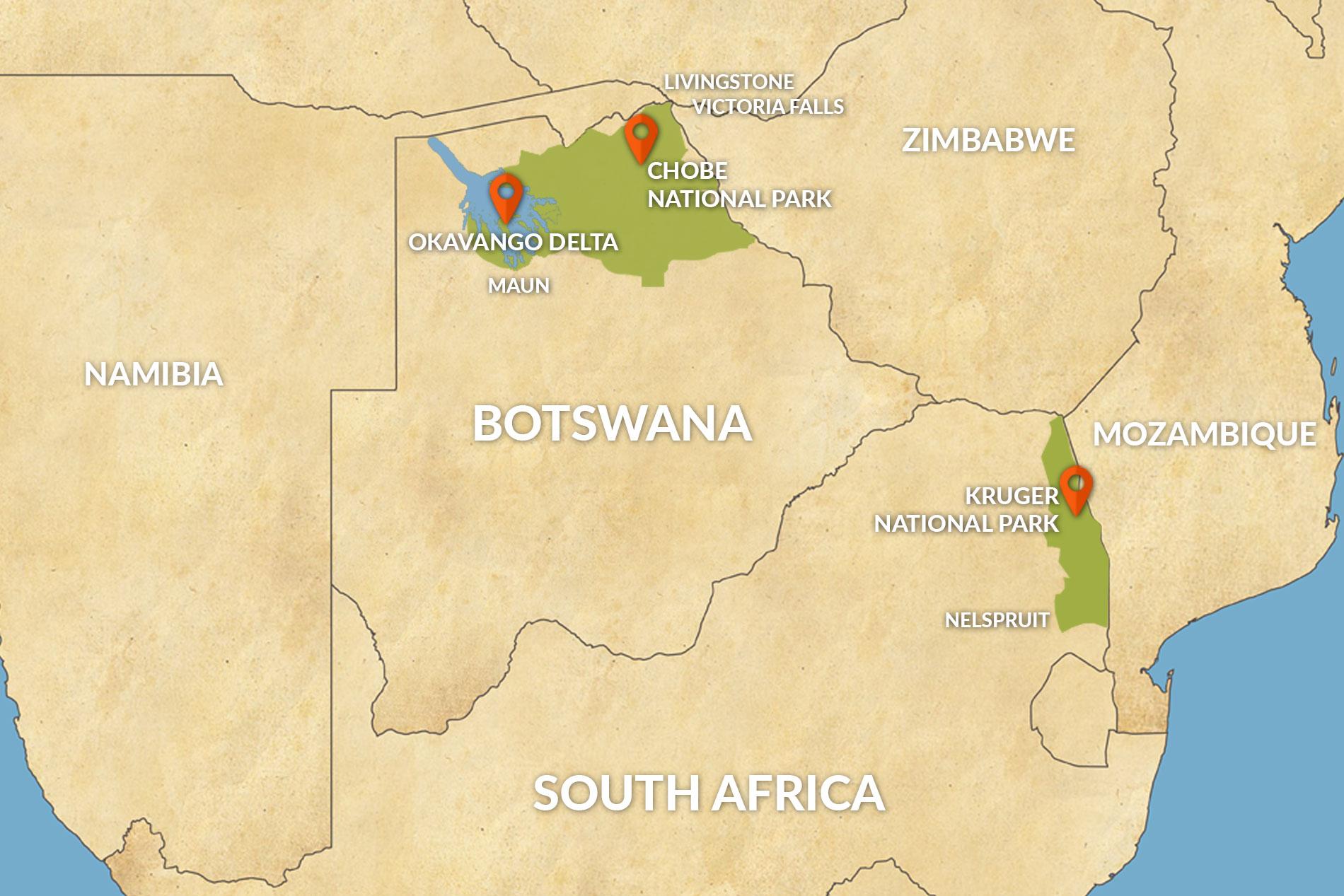 Botswana (Okavango Delta/Chobe) vs Kruger: Which is Best for ...