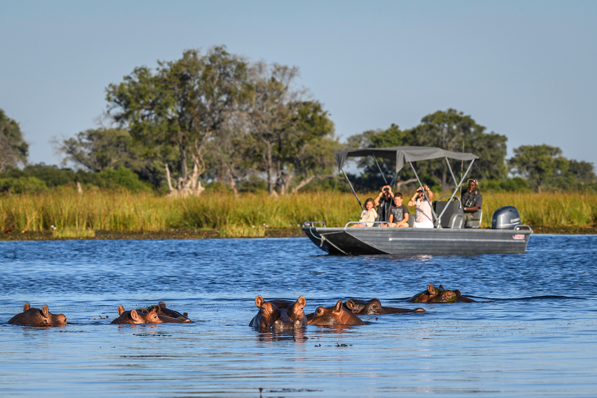 Okavango Delta Water-based Safaris