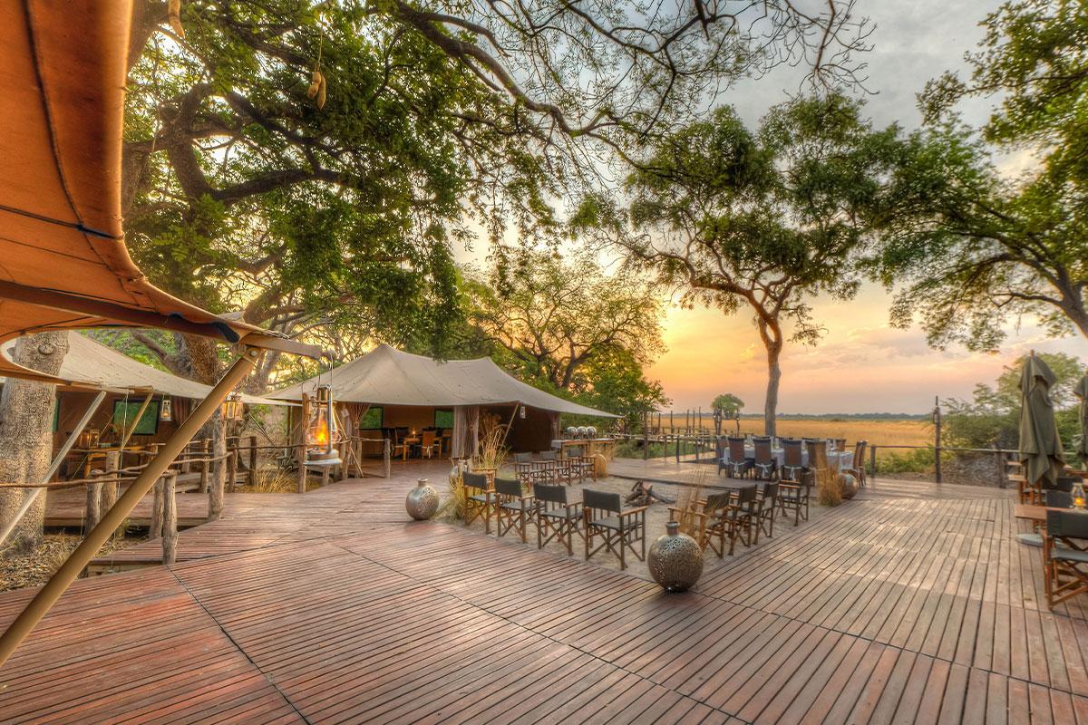 Kadizora Camp, a luxury Okavango Delta Camp perfect for couples