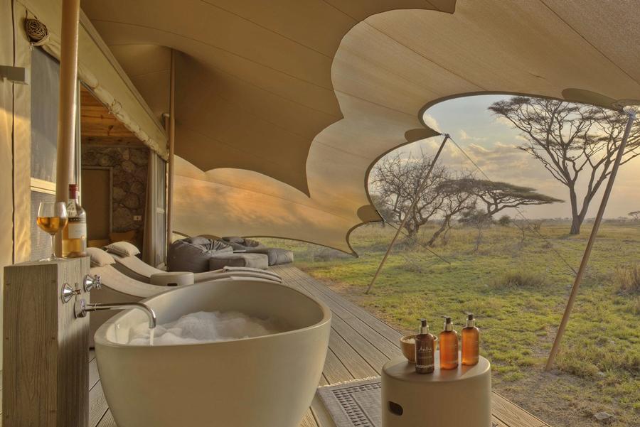 Namiri Plains Camp, Serengeti, Tanzania   Go2Africaner