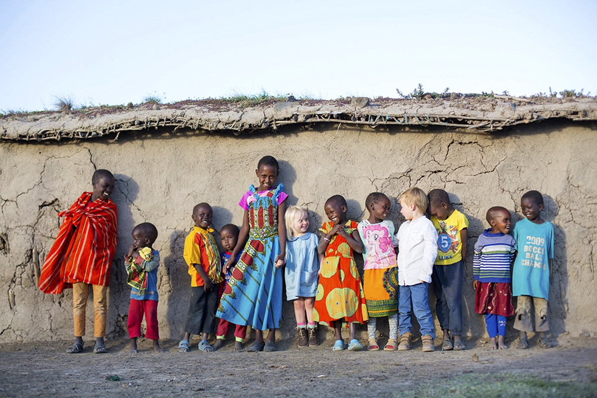 Meeting the semi-nomadic Maasai while on a Masai Mara safari