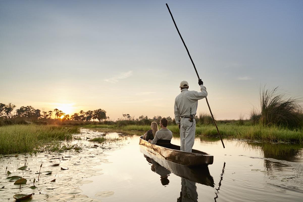 Mokoro canoe trip through Okavango Delta waterways | African Safari in Botswana | Go2Africa