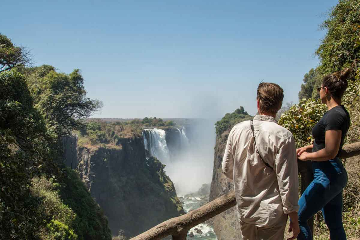 Avani guests have unlimited access to the Zambian side of Victoria Falls, in Zimbabwe.
