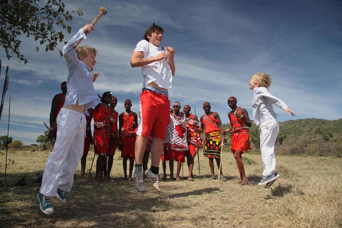 Saruni Samburu in Kenya is ideal for nature-loving families.