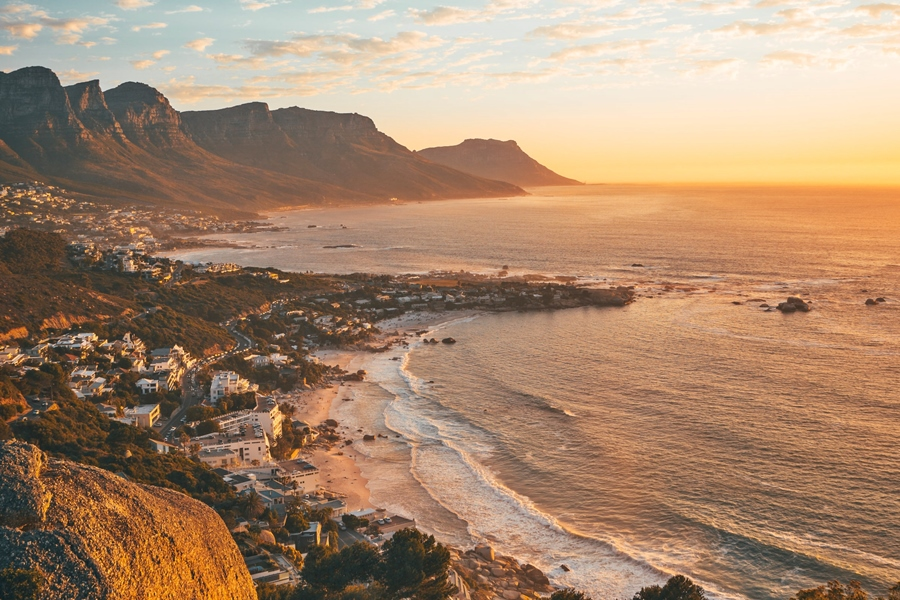 Sunset over Clifton in Cape Town, South Africa | Go2Africa