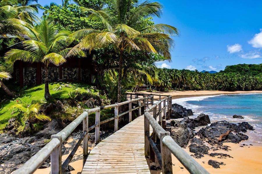 Bom Bom Island Resort on Bom Bom Island, São Tomé and Príncipe | Go2Africa